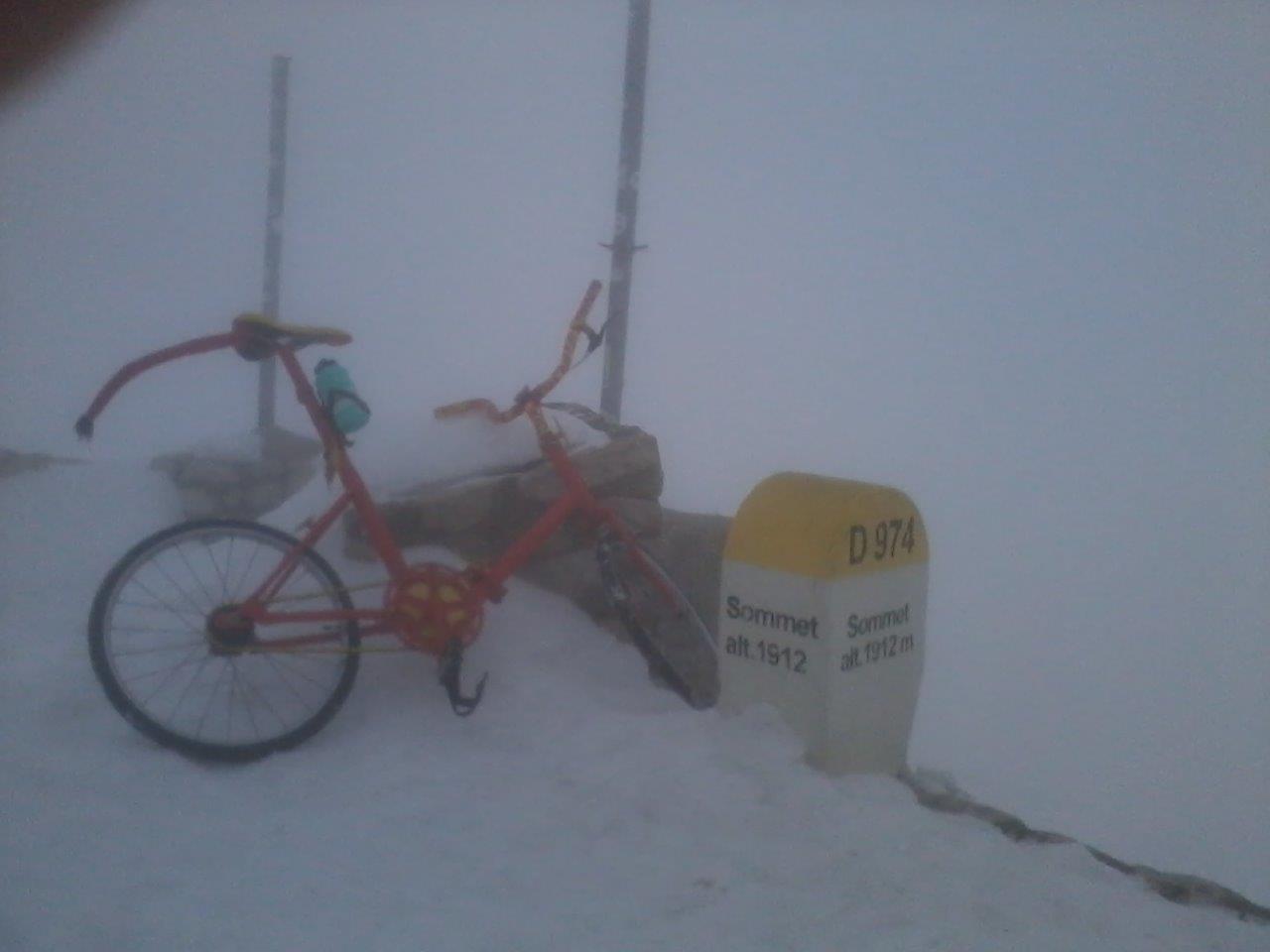 """Sensation: Gletscher am Mont Ventoux gibt """"Klappi"""" frei"""